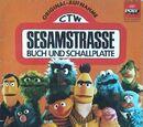Sesamstrasse Buch und Schallplatte
