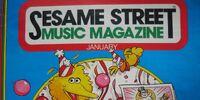Sesame Street Music Magazine Vol. 3, No. 4