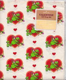 Hallmark valentine wrapping paper