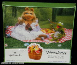 Hallmark 1981 muppet picnic postalettes 1