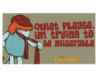 Poster Fraggle Rock-Miserable Boober