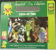 Schylling magicloth magnetic paper doll kermit 1