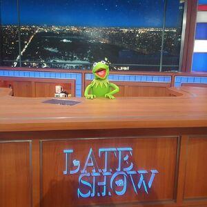 Late Show Kermit