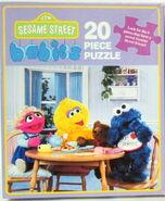 Milton bradley sesame babies puzzles 1992a