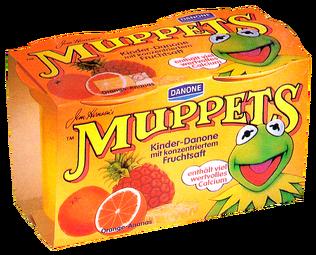 Muppets-Kinder-Danone-OrangeAnanas-(1988)