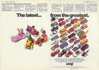 Corgi ad March 1980