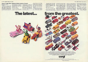 Corgi ad March 1980