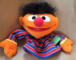 Fisher-price 2004 collectible hand puppet ernie