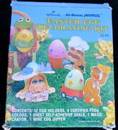 Hallmark 1981 muppet easter egg decorating kit 1