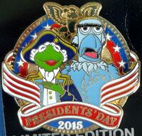 President pin