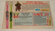 Oral b muppet toothbrush ad 1985