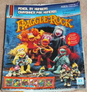 Fraggle pencil by numbers 1