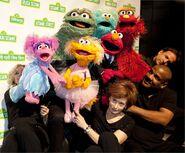 2012 Sesame Gala Muppeteers