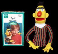 Child guidance 1973 bert puppet 1