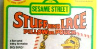 Sesame Street Stuff and Lace pillow kits