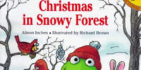Christmas in Snowy Forest