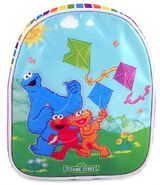 Flying kites backpack