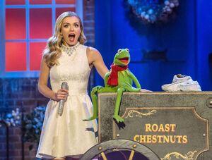 Katherine Jenkins Kermit the Frog