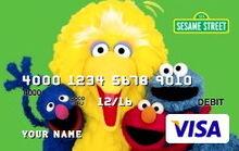Sesame debit cards 34 cast