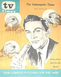 TV TIMES JIMMY ROWLF