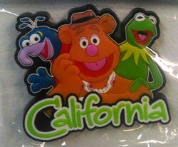 Disney parks california magnet