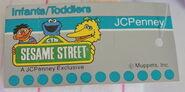 Jc penneys sesame street 1980s girls big bird outfit 2