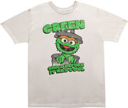 Sesame Street Oscar The Grouch Green Since Before it Was Cool-T-Shirt
