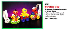 Tyco 1994 stroller toy