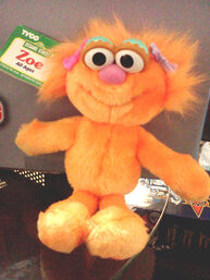 Tyco 1996 zoe plush