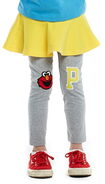 Pancoat leggings p elmo knees