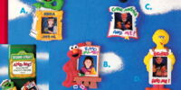 Sesame Street magnets (Enesco)