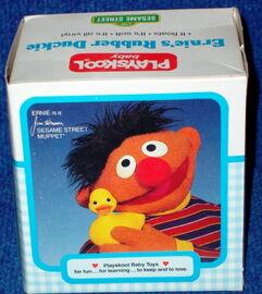 Rubber duckie 1985 playskool a