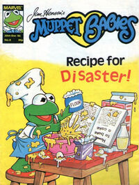 Muppet babies weekly uk 20 dec 1986
