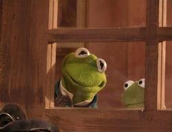 Kermit and robin wait