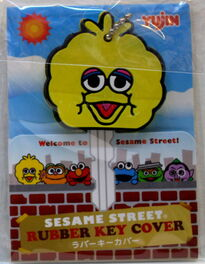Sanrio big bird key cover