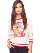 Forever 21 kermit genius shirt