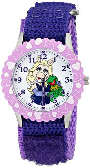Ewatchfactory 2014 Piggy and Kermit Stainless Steel Watch