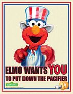 Uncle Elmo wants you