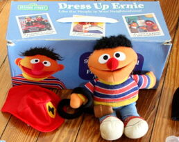 Applause 1999 dress up ernie set 1