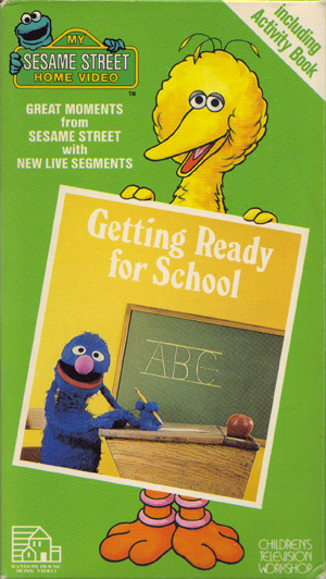 Getting ready for school vhs cassette school wiki for House music wiki