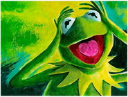 Acme archives 2014 kermit canvas giclee print