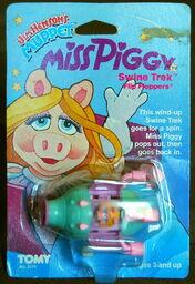 Tomy wind-up flip-flopper swinetrek 1
