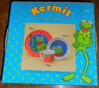 Zak designs kermit dinnerware 1