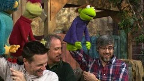 "Mo Rocca learns how to get to ""Sesame Street"""