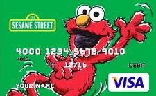 Sesame debit cards 22 elmo