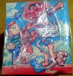 Kleenex 1988 muppet tissue box 4