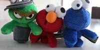 Sesame Street Zombies keychains