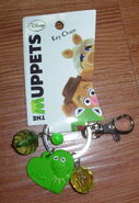 Hanover accessories kermit heart keychain