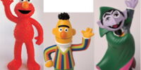 Sesame Street garden ornaments