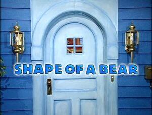 Shapeofabear